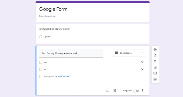 5. Google Survey Tools (Google Forms:Google Quiz)