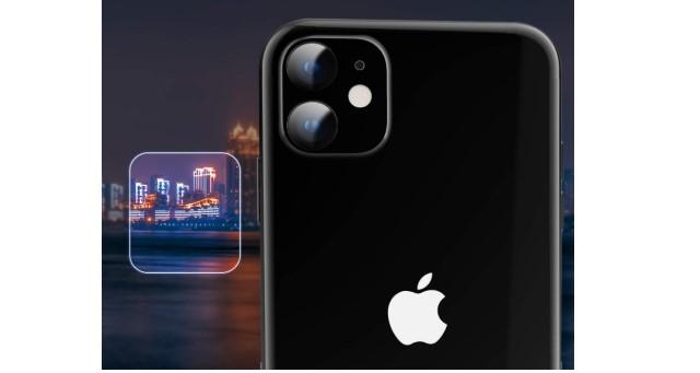 5. MoKo iPhone 11 Camera Lens Protector