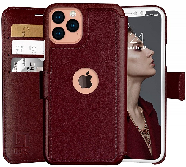 6. Lupa Flip Leather Case best leather cases for iPhone 11 pro