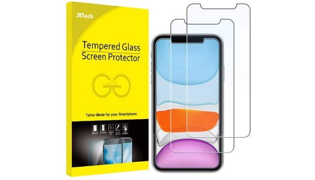 7. JETech Screen Protector for iPhone 11