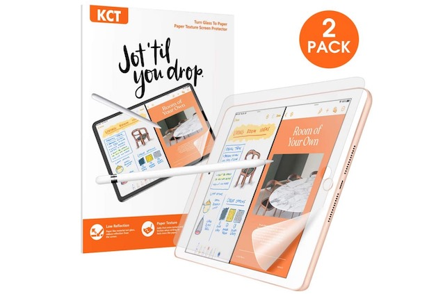 7. KCT screen protector for ipad air 7th gen