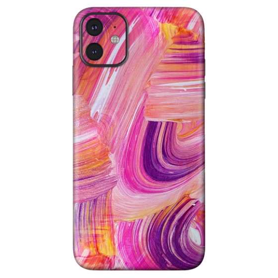 7. Oild Paint Best iPhone 11 Skins
