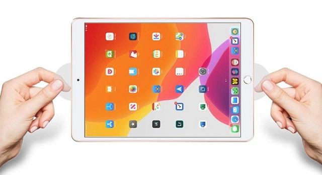 Защитная пленка AmFilm для iPad 10.2
