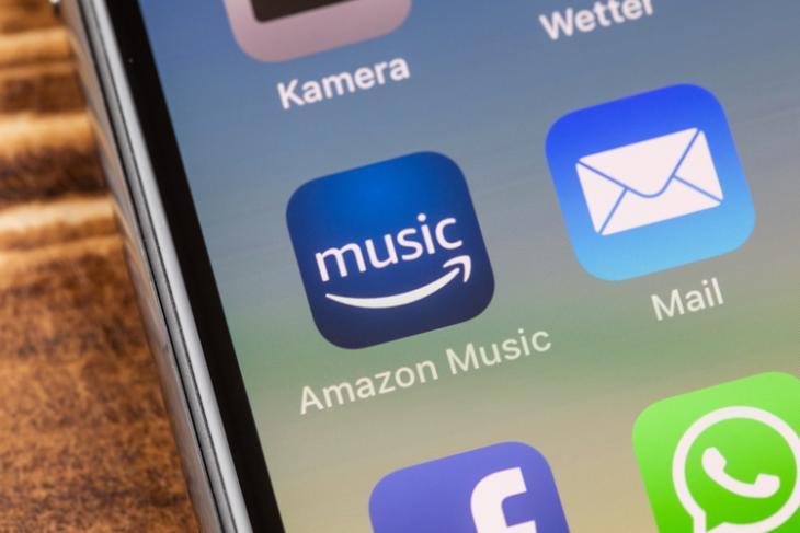 Amazon Music shutterstock website