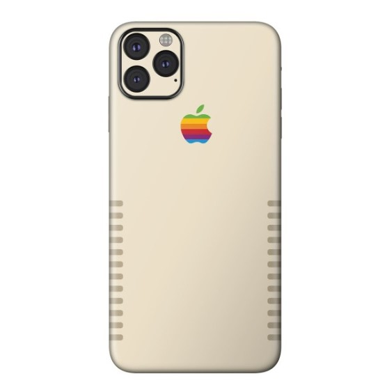 Apple Retro Skin for iPhone 11 Pro Max