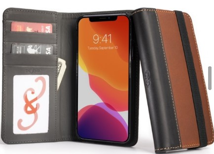 Aria Luxury Wallet Case from Pad and Quill