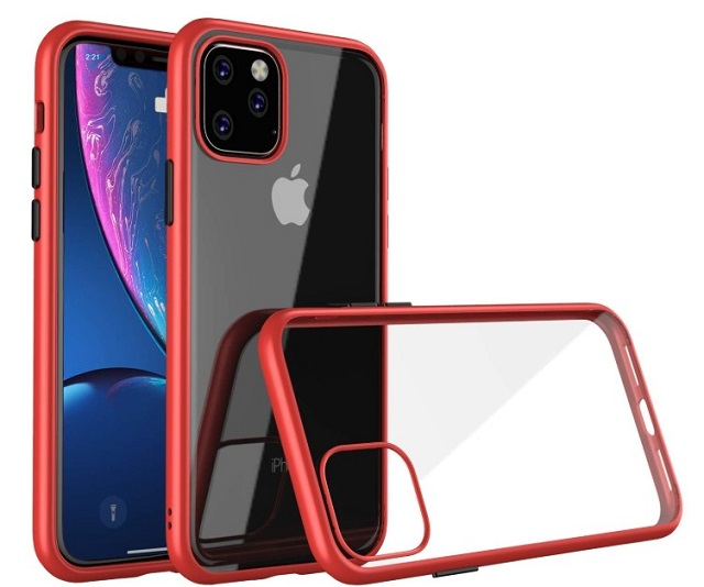 Aurbull bumper cover -clear cases for iPhone 11 Pro Max
