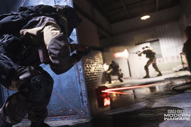 Call of Duty Modern Warfare 2019 website