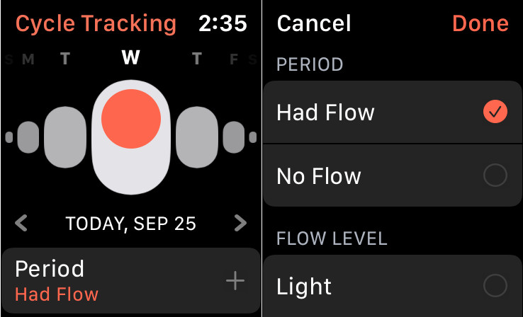 Cycling Tracking on Apple Watch