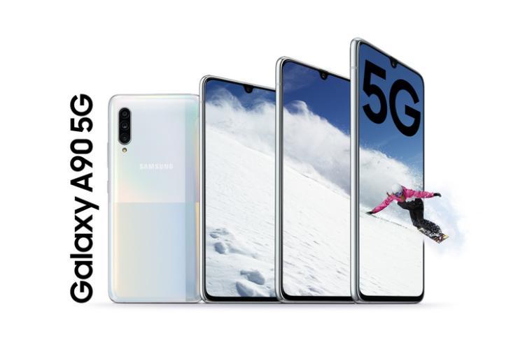 Galaxy A90 5G website