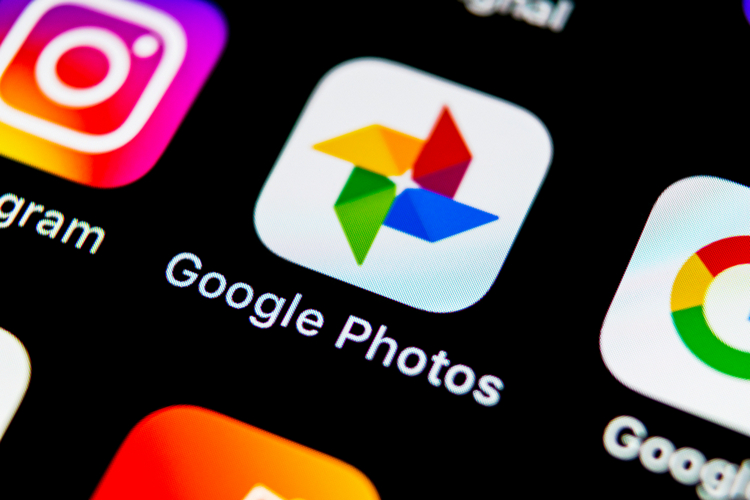 Google Photos shutterstock website