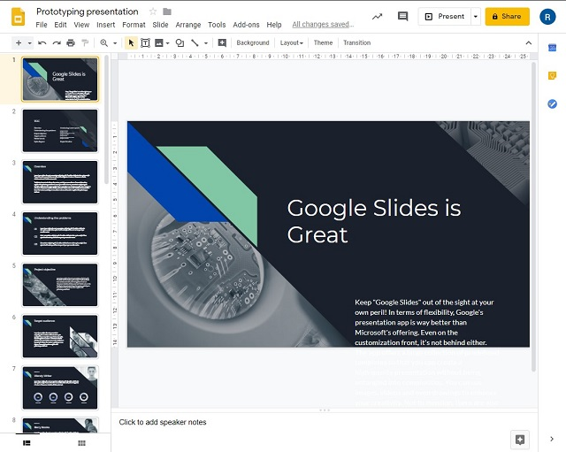 Google Slides - Best Microsoft PowerPoint Alternatives for Collaboration