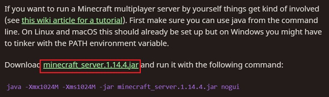 Install Minecraft Server on Android