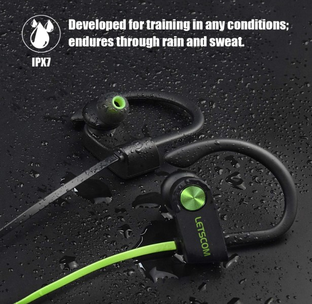 Letscom sports earphones
