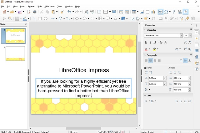 LibreOffice Impress - Best Free Microsoft PowerPoint Alternatives
