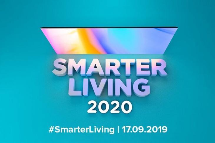 Mi Smarter Living 2020 website
