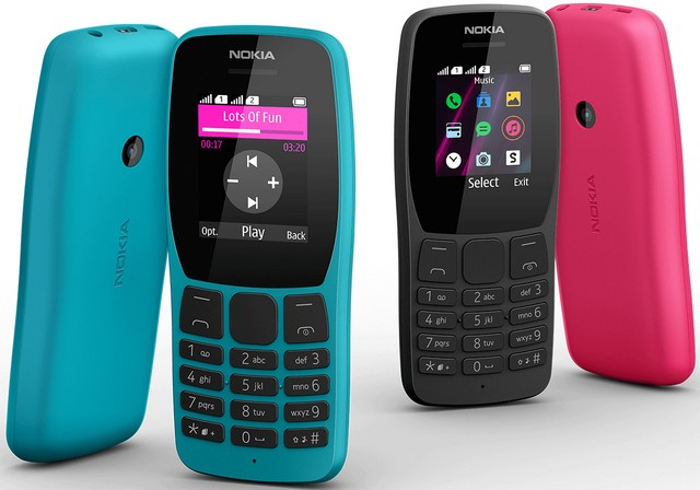 Nokia 110 (2019), 800 Tough, 2720 Flip Feature Phones Launched at IFA 2019