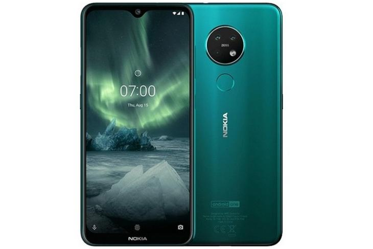 Nokia 7.2 website