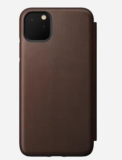 Nomad Leather cover for iPhone 11 Pro Max