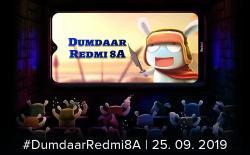 Redmi 8A India Launch website