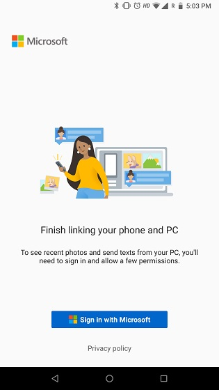 Reply to Text Messages and Access Image Gallery on Your PC