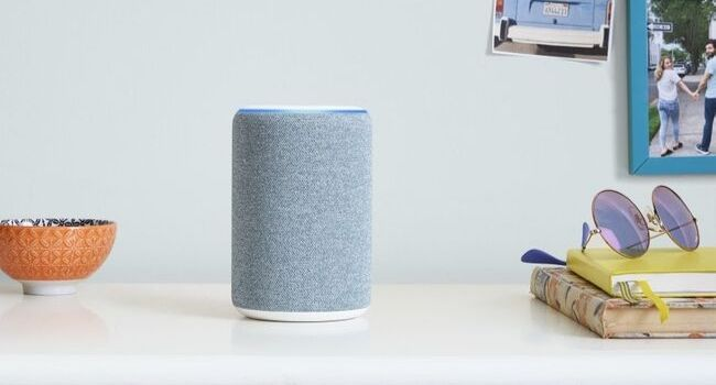 third-gen Amazon Echo speaker