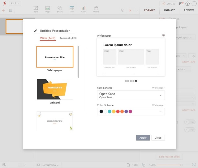Zoho Show - Best Overall Microsoft PowerPoint Alternatives