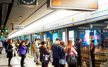 Chinese subway stations