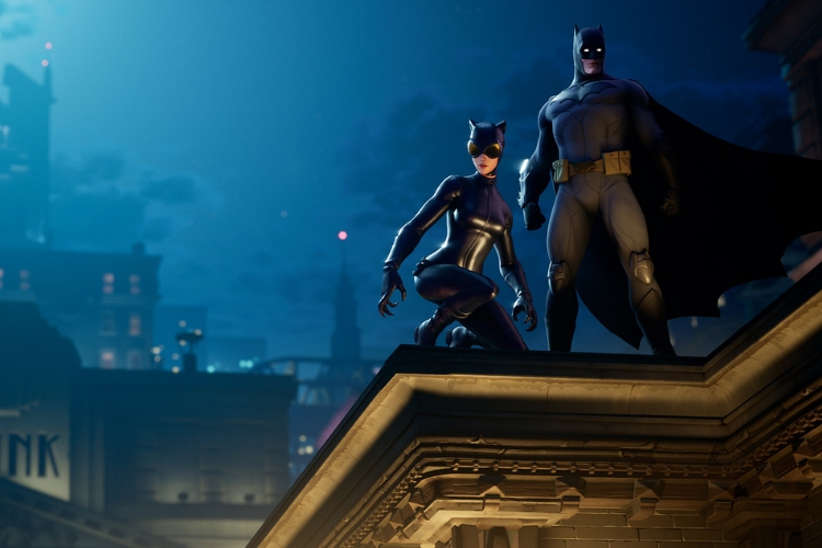 Batman and Catwoman skins