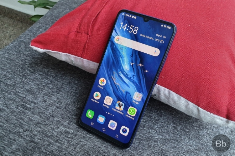 Vivo Z1x screen
