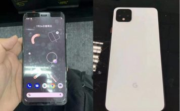 Google Pixel 4 leak shows off design, new features