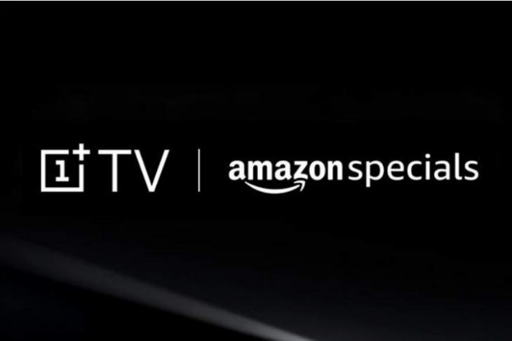 OnePlus TV listed on Amazon India