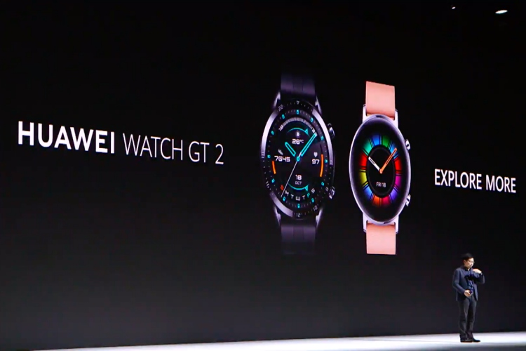 Huawei officially unveils Watch GT 2 running on company's own OS