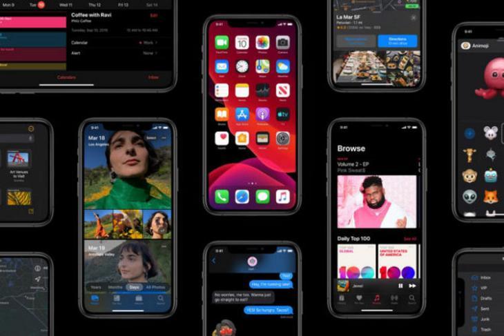 iOS 13 website