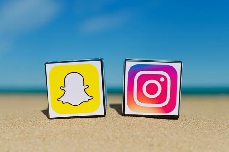 instagram, snapchat