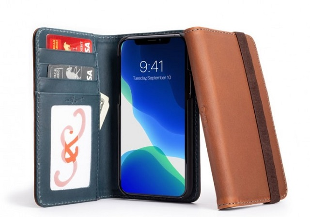Bella Fino leather case for iPhone 11