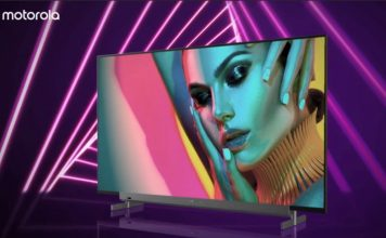 motorola TV lineup launched in India