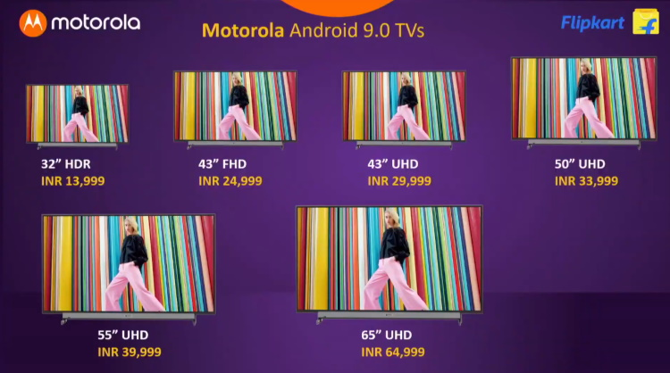 motorola TV prices