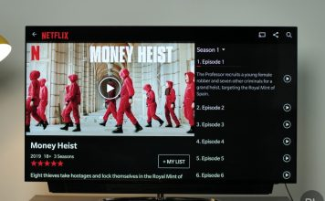 no netflix support - oneplus TV Q1 series