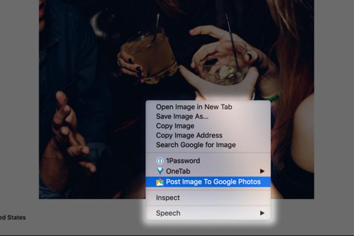 post image to google photos