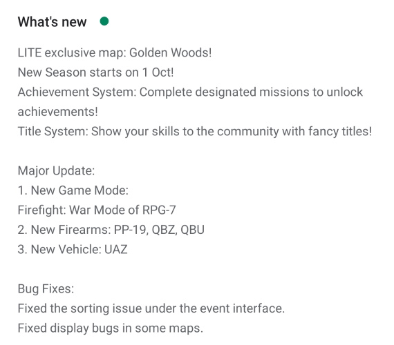 PUBG Mobile Lite Adds New 'Golden Woods' Map, Weapons and Vehicles