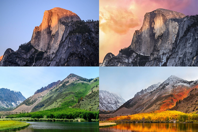 These Friends Recreated Every macOS Wallpaper