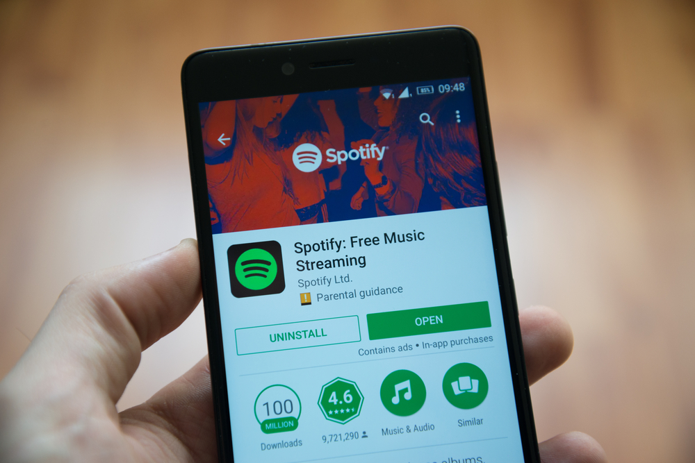 Spotify Adds Seekable Progress Bar to Android 10