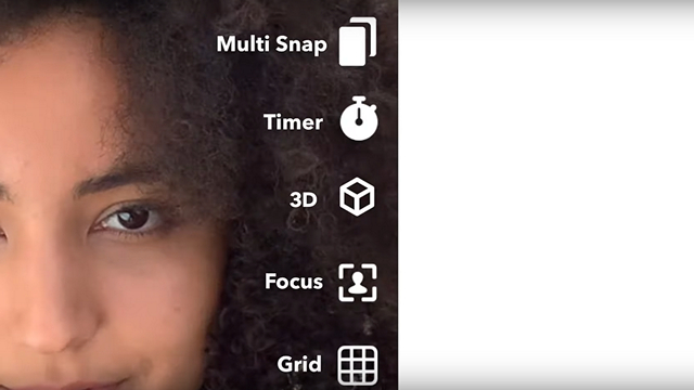 You Can Now Take 3D Selfies on Snapchat