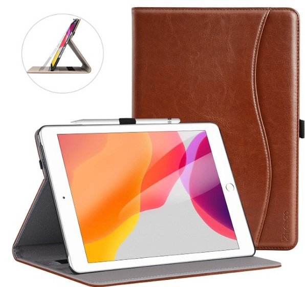 Ztotops folio case for 10.2-inch iPad