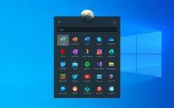 windows start menu fluent design