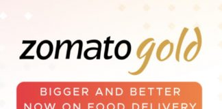 zomato gold delivery