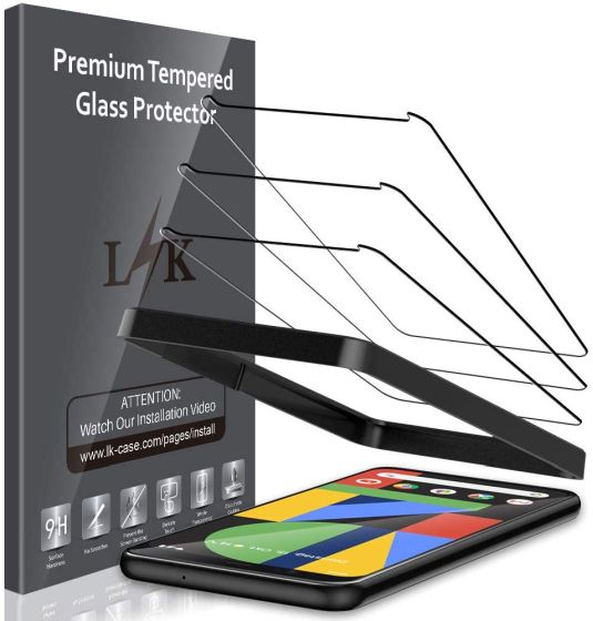 1. LK best pixel 4 screen protectors
