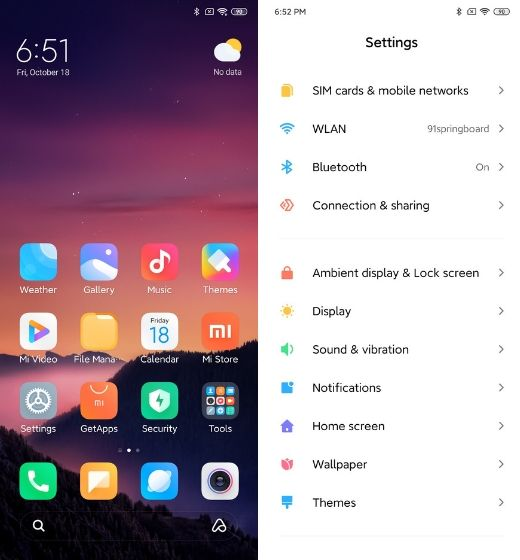 1. Minimalist Design new MIUI 11 features