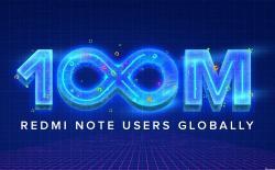 100 Million Redmi Note website